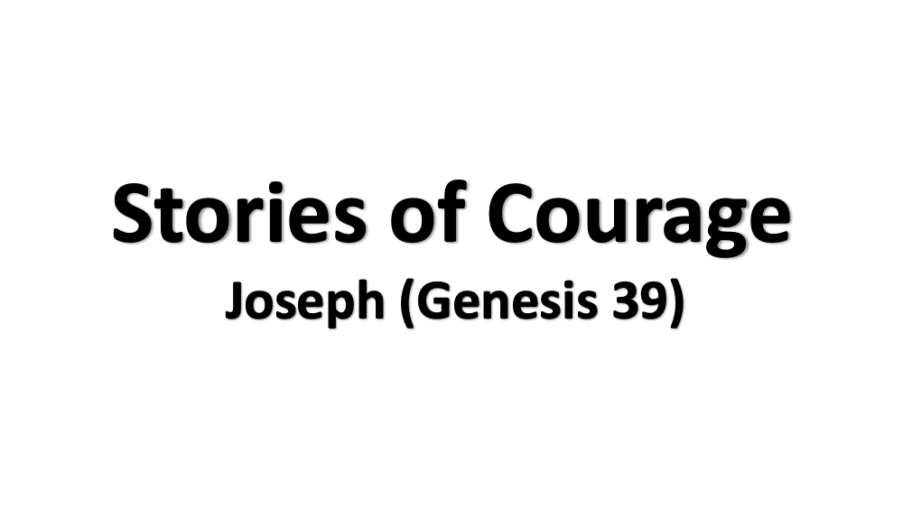 Stories of Courage - Joseph Image