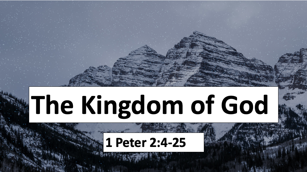Being Reformed - The Kingdom of God