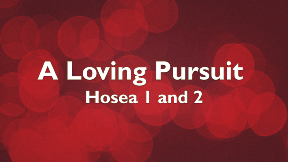 A Loving Pursuit: Hosea 1&2 Image