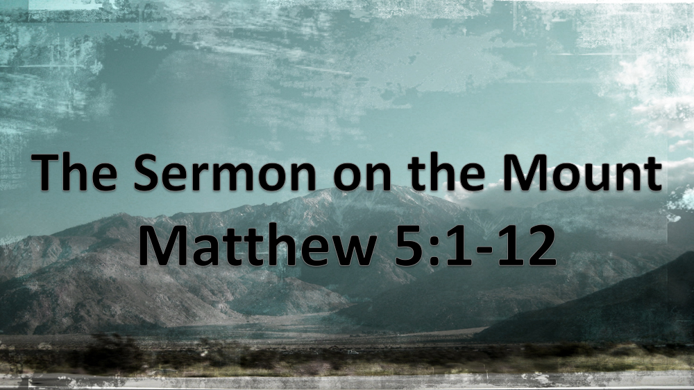 Sermon on the Mount: BEatitudes Image
