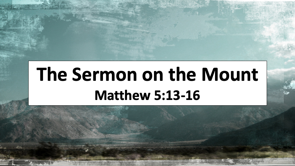 Sermon on the Mount: Salt & Light Image