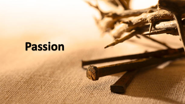 Passion: Jesus' Prayer Image